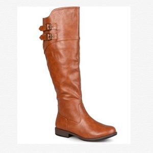 Journee Collection Chestnut Tori Riding Boot